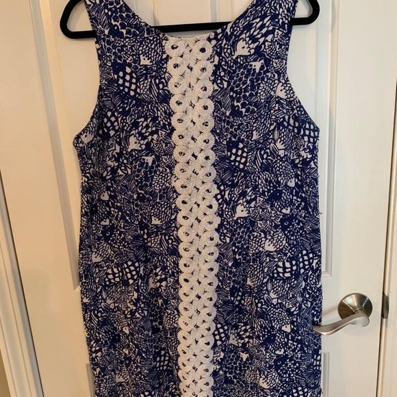 Navy Lilly Pulitzer Plus Size Dress